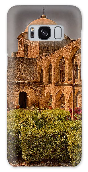 Mission San Jose Church Galaxy Case by Priscilla Burgers