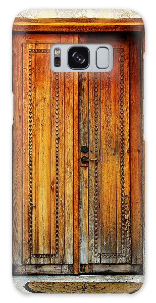 World Religion Galaxy Case - Mission San Juan Capistrano Door -- San Antonio by Stephen Stookey