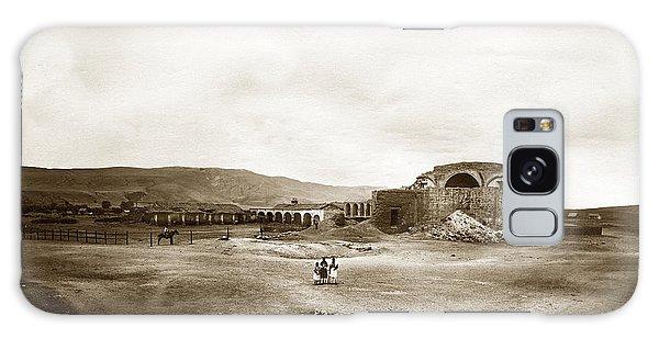 Mission San Juan Capistrano California Circa 1882 By C. E. Watkins Galaxy Case by California Views Mr Pat Hathaway Archives