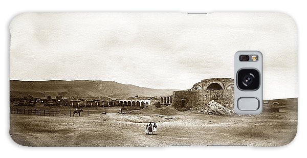 Mission San Juan Capistrano California Circa 1882 By C. E. Watkins Galaxy Case