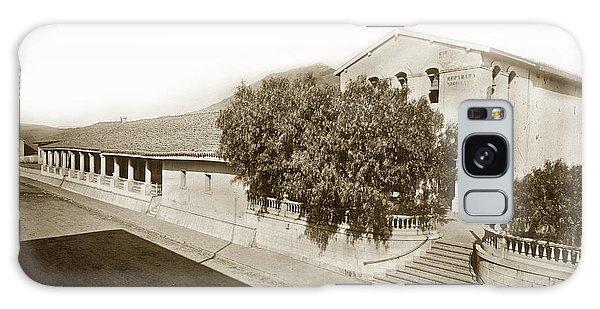 Mission San Luis Obispo De Tolosa California 1880  Galaxy Case by California Views Mr Pat Hathaway Archives