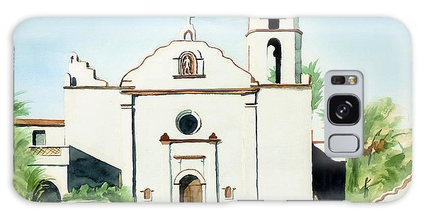 Mission San Luis Rey Colorful II Galaxy Case