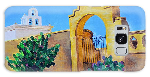 Mission San Xavier Galaxy Case by Rodney Campbell