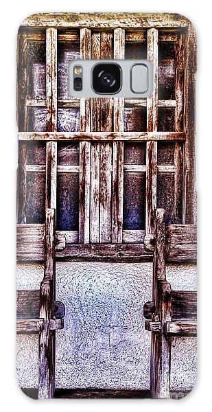 Mission Soledad Window Seating By Diana Sainz Galaxy Case
