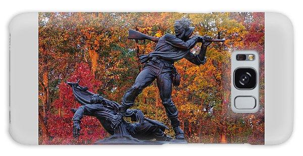 Mississippi At Gettysburg - The Rage Of Battle No. 1 Galaxy Case