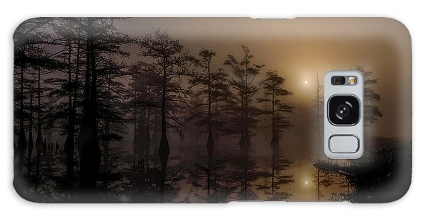 Mississippi Foggy Delta Swamp At Sunrise Galaxy Case