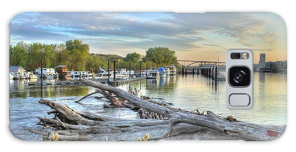 Mississippi Harbor 2 Galaxy Case by Jimmy Ostgard