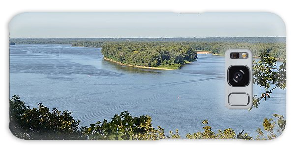 Mississippi River Overlook Galaxy Case