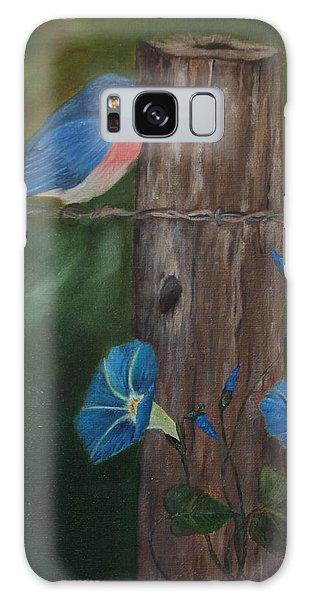 Missouri Blue Bird II Galaxy Case