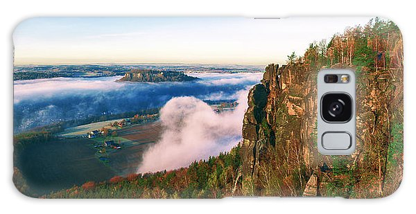 Mist Flow Around The Fortress Koenigstein Galaxy Case