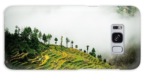 Mist In Mountain Himalayas Color Galaxy Case