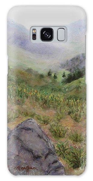 Mist In The Glen Galaxy Case by Laurie Morgan