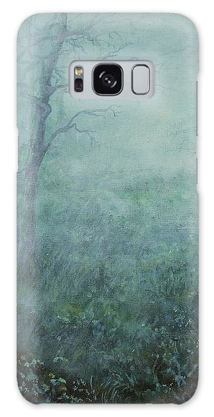 Mist On The Meadow Galaxy Case