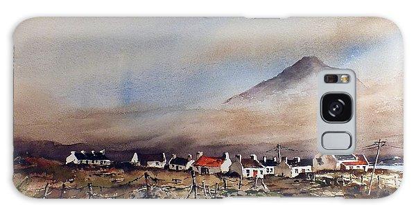 Mist Over Dugort Achill Island Mayo Galaxy Case