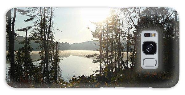 Misty Autumn Morning Galaxy Case by Margie Avellino