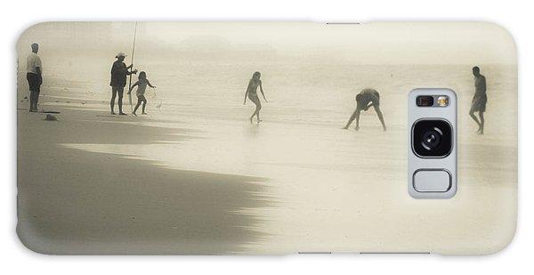Misty  Beach Galaxy Case