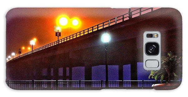 Misty Bridge Galaxy Case