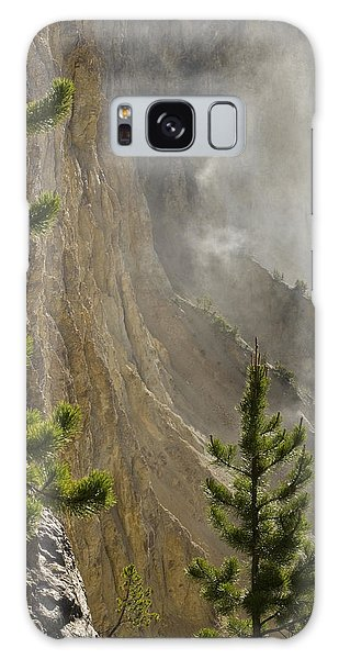 Misty Canyon  Galaxy Case