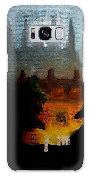 Misty Castle Galaxy Case