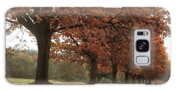 Misty Colours Of Autumn Galaxy Case by Shirley Mitchell