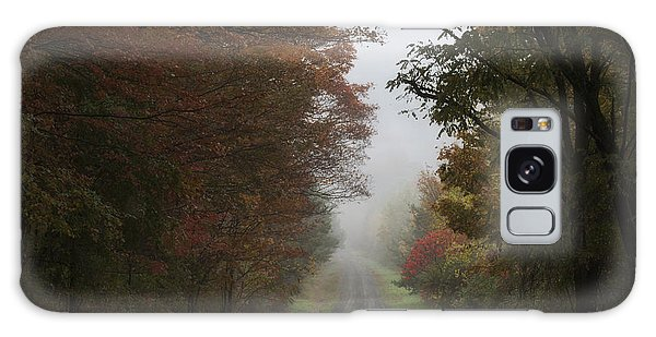 Misty Fall Morning Galaxy Case