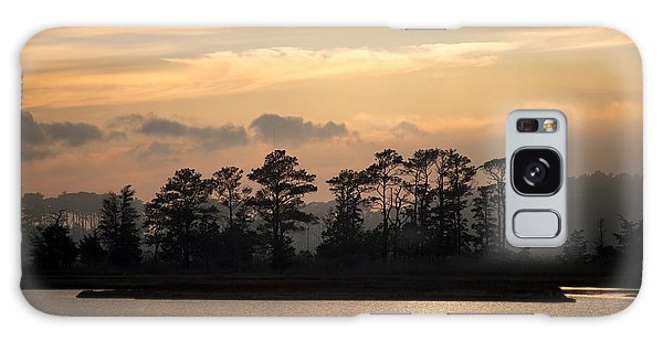 Misty Island Of Assawoman Bay Galaxy Case