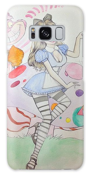 Misty Kay In Wonderland Galaxy Case