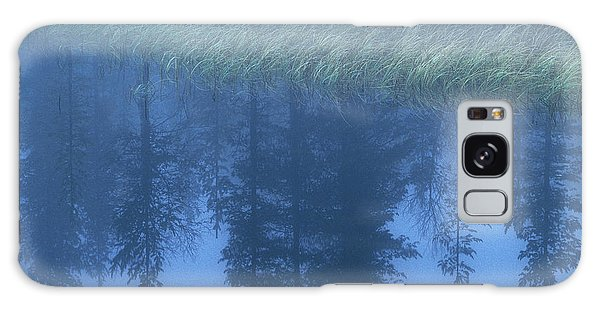 Boreal Forest Galaxy Case - Misty Lake, Sweden by Peter Essick