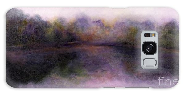 Misty Morning Galaxy Case by Alison Caltrider