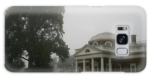 Misty Morning At Monticello Galaxy Case