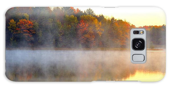 Misty Morning At Stoneledge Lake Galaxy Case
