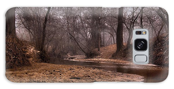 Misty Morning Creek Galaxy Case