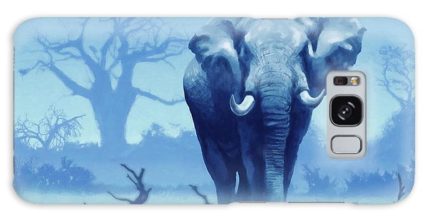 Misty Morning In The Tsavo Galaxy Case by Anthony Mwangi