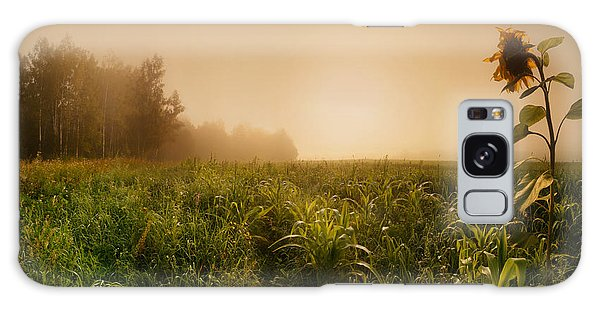 Evening Galaxy Case - Misty Morning by Julia Shepeleva