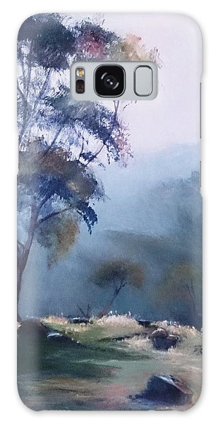 Misty Morning  Galaxy Case