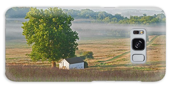 Misty Morning Galaxy Case by Michael Porchik