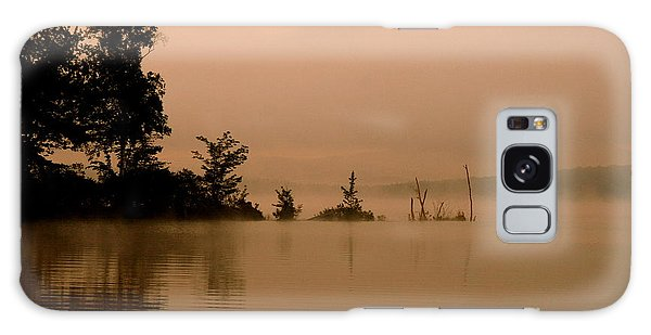 Misty Morning Solitude  Galaxy Case by Neal Eslinger