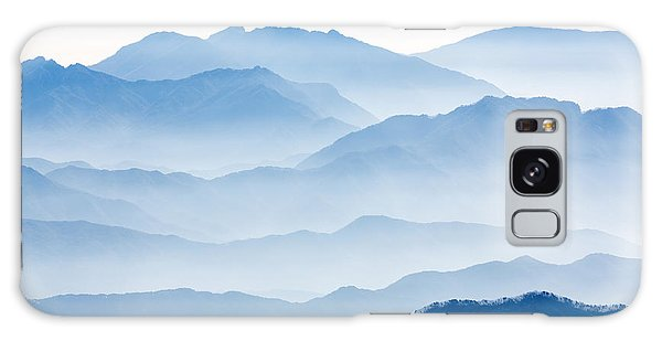 Layers Galaxy Case - Misty Mountains by Gwangseop Eom