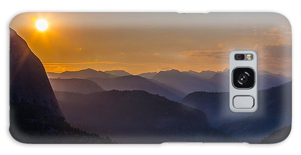 Misty Mountains Galaxy Case by Mike Lee