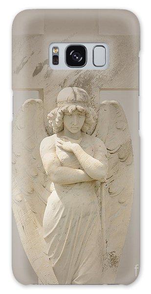 Misty Pouty Angel Galaxy Case