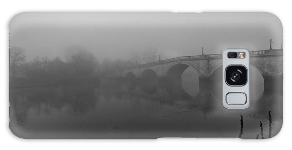 Misty Richmond Bridge Galaxy Case