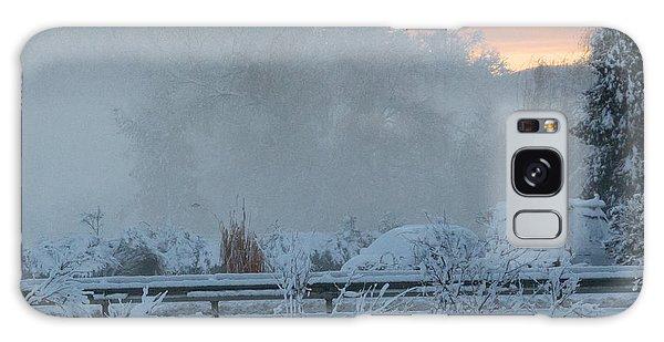 Misty Snow Morning Galaxy Case