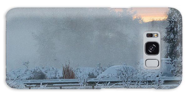 Misty Snow Morning Galaxy Case