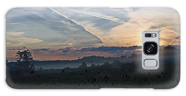 Misty Sunrise Galaxy Case