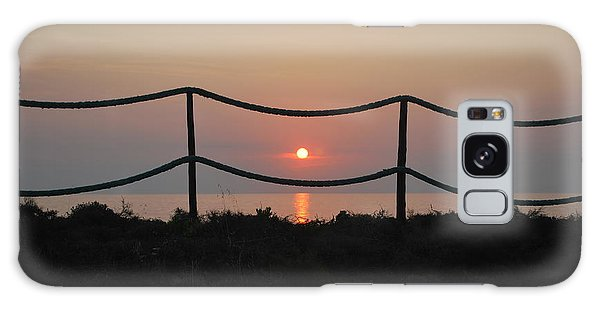 Misty Sunset 1 Galaxy Case by George Katechis