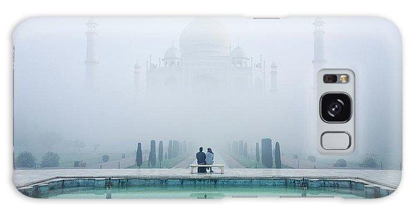 Misty Taj Mahal Galaxy Case