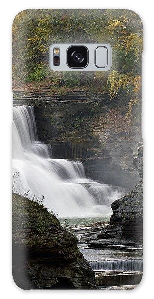 Misty Waterfalls Galaxy Case