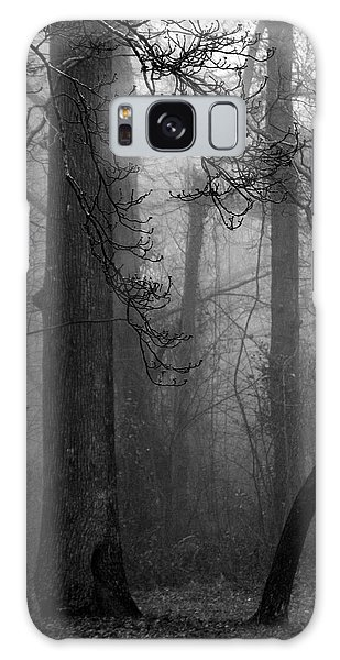Misty Woods Galaxy Case by Rebecca Davis