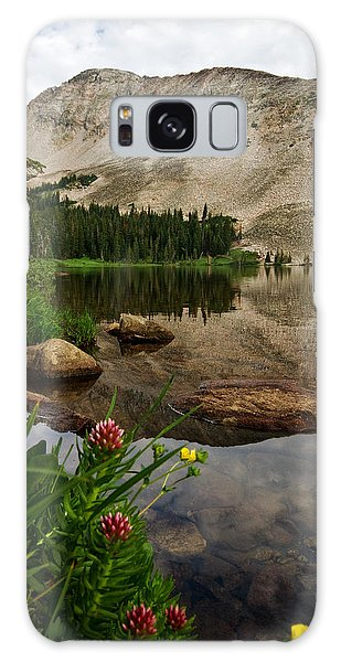 Mitchell Lake Reflections Galaxy Case
