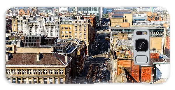 Mitchell Street Glasgow Galaxy Case by Fiona Messenger